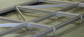 Anodised aluminium frame